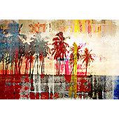 Parvez Taj Abbott Kinney Wall Art - 30 cm H x 45 cm W x 5 cm D