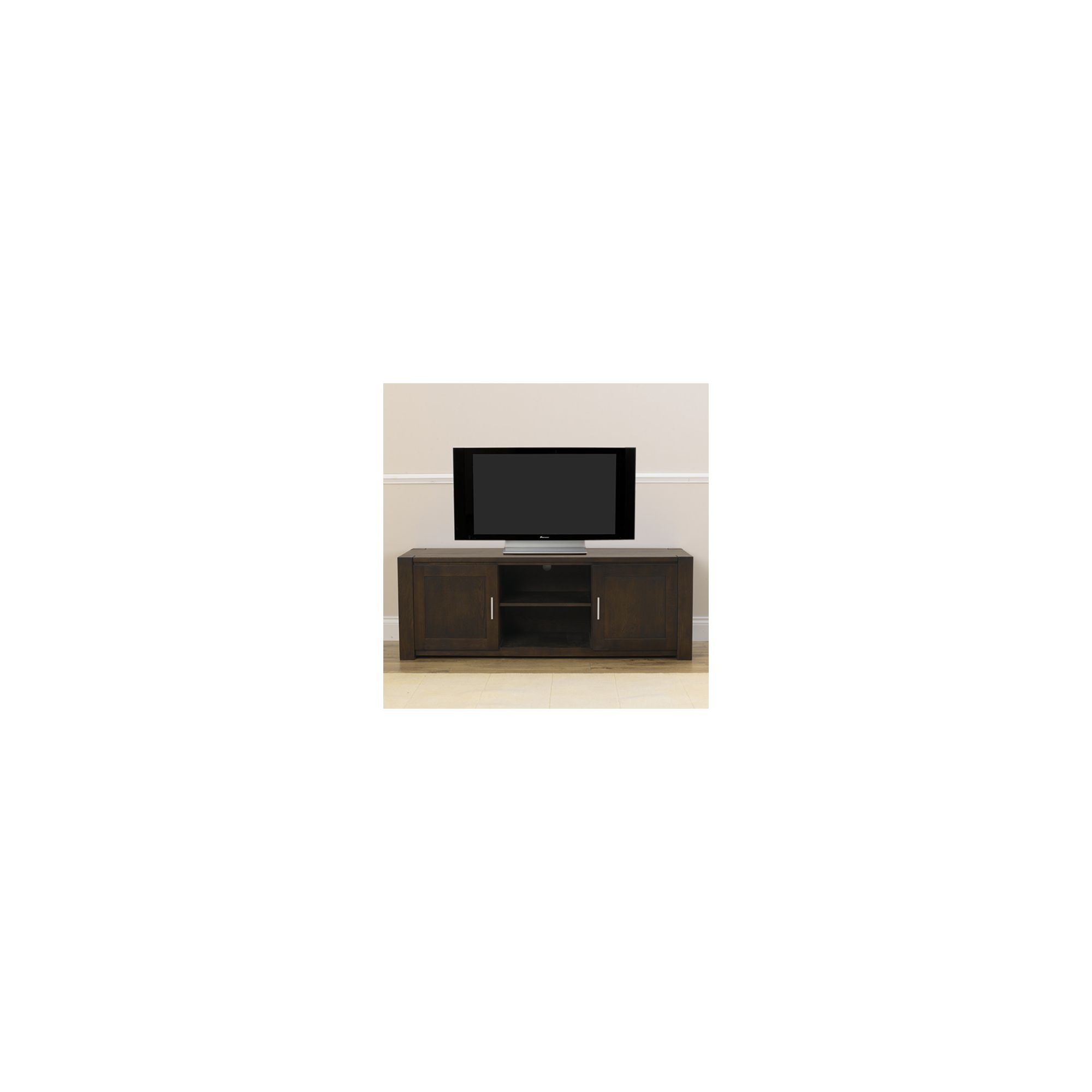 Mark Harris Furniture Verona TV Unit - Dark Oak at Tesco Direct
