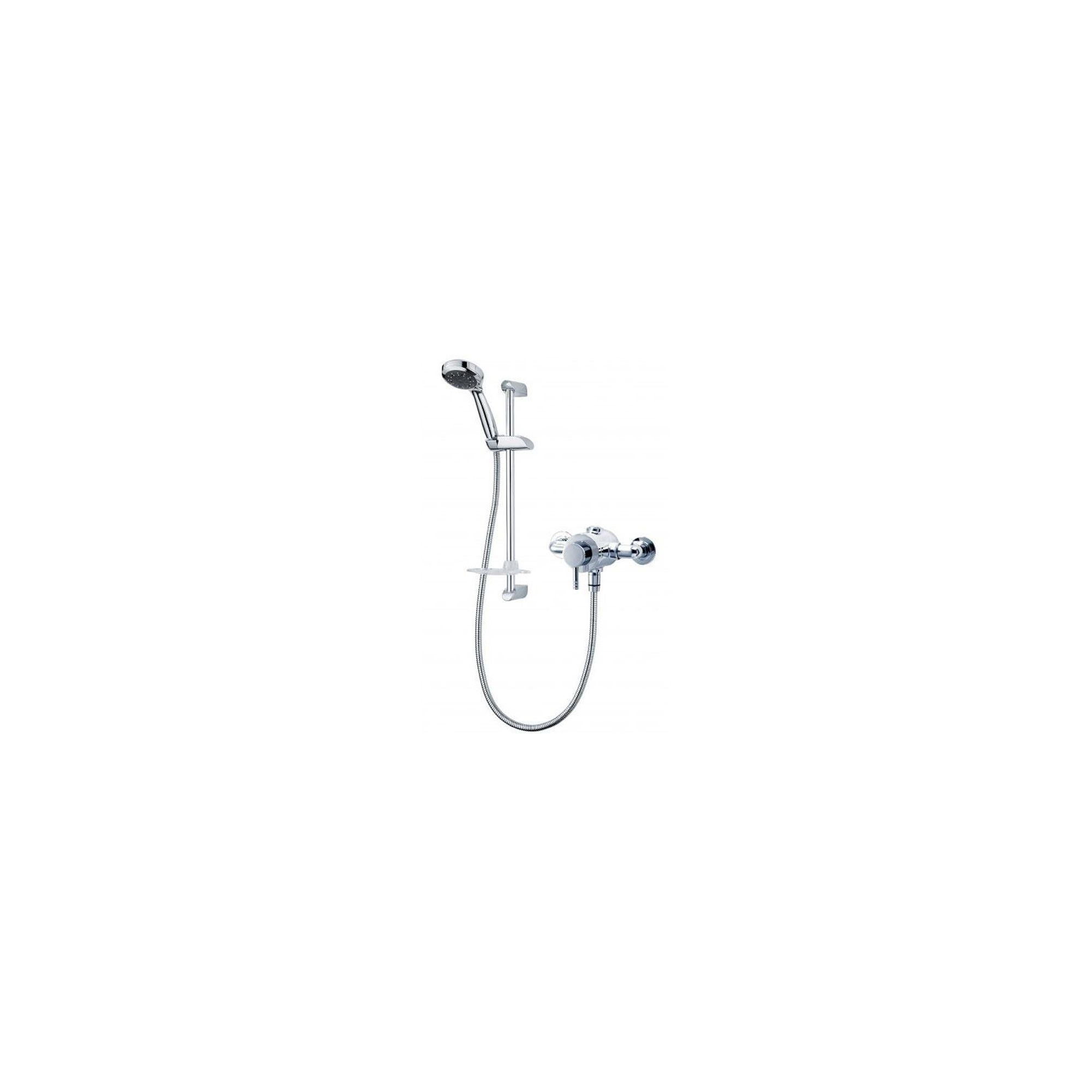 Triton Thames Exposed Thermostatic Sequential Mixer Chrome at Tesco Direct