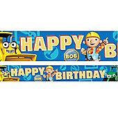 Bob The Builder Party Foil Banner - 4.65m (each)