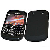 Black SnapGuard Protection Case - BlackBerry 9900 Bold Touch