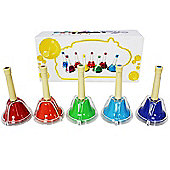 A-Star Hand Bells Set of 5
