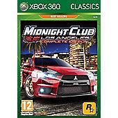 Midnight Club - Los Angeles - Classics Edition - Xbox-360