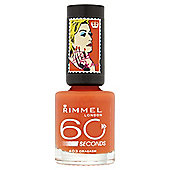 Rimmel 60 Seconds Rita Ora Nail Polish Oragasm