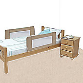 Safetots Double Sided Bed Rail Natural