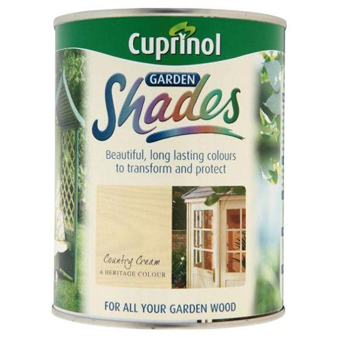 Cuprinol Garden Shades, 1L, Country Cream