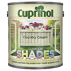 Cuprinol Garden Shades, 1L, Country Cream