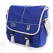 Official England Rugby RFU Heritage Satchel Messenger Bag (Navy/Stone)