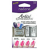 Nailene Artist Expressions Nail Art Kit - Cool 71501