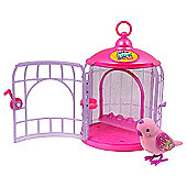 Little Live Pets Bird Cage with Pretty Princess Pet Bird