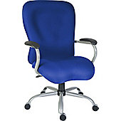 Teknik Office Titan Heavy Duty Operator Chair - Blue