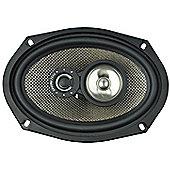 "Ground Zero Radioactive 69XII 6x9"" Triaxial Car Speaker (Single Speaker)"