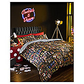 HASHTAG Bedding Vegas Duvet Cover and Pillowcase Set, Double