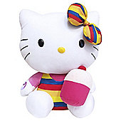 "Hello Kitty Cupcake 12"" Giggling Cuddly Toy"