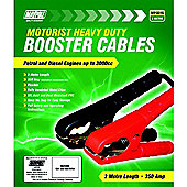 350A Booster Cable Set Suitable for Engines Up To 3000cc