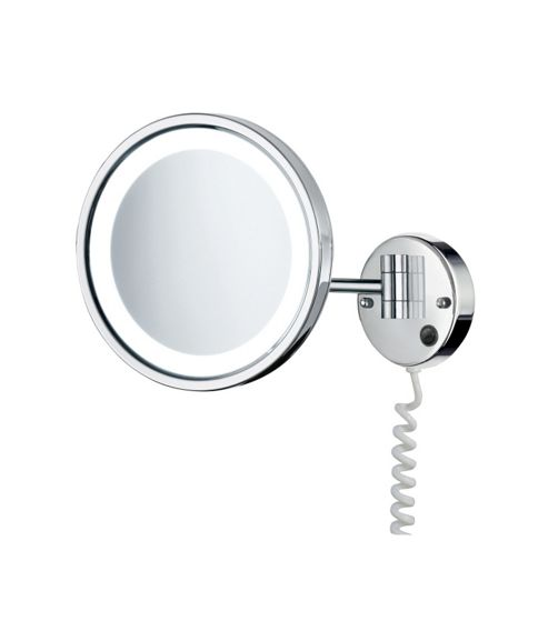 Smedbo Outline Shaving and Make-up Mirror with LED-Technology