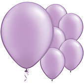 Lavender Balloons - 11' Metallic Latex Balloon (6pk)