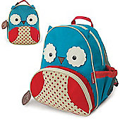 Skip Hop Zoo Pack Kids Backpack & Lunch Bag - Owl Bundle