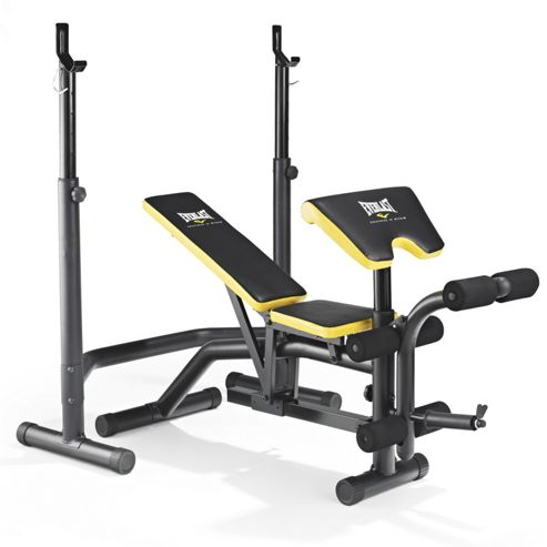 Buy Everlast Ev 340 Weight Bench Squat Rack From Our All Weights And Strength Training Range