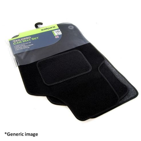 Tailored Car Mat Set (Black) Honda Insight 10> (3 Pc)