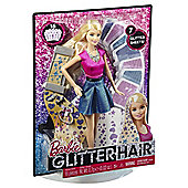 Barbie Glitter Hair  Doll