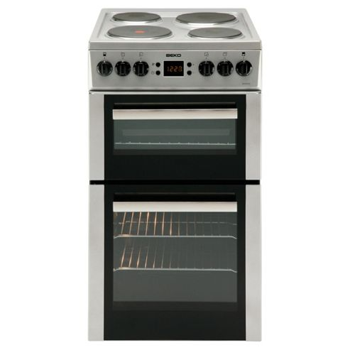 Beko BDV555AS Cooker Silver