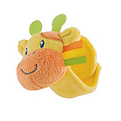 Mothercare Safari Wrist Rattle- Giraffe