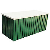 4ft x 2ft Premier Green Metal Storage Box (1.28m x 0.68m)