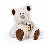 NICI Cream and Brown Teddy Bear with Bumblebee 35cm - Toys/Games