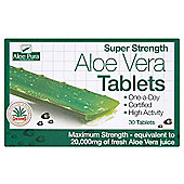 Aloe Pura Super Strength Aloe Vera Tablets 30 Tablets