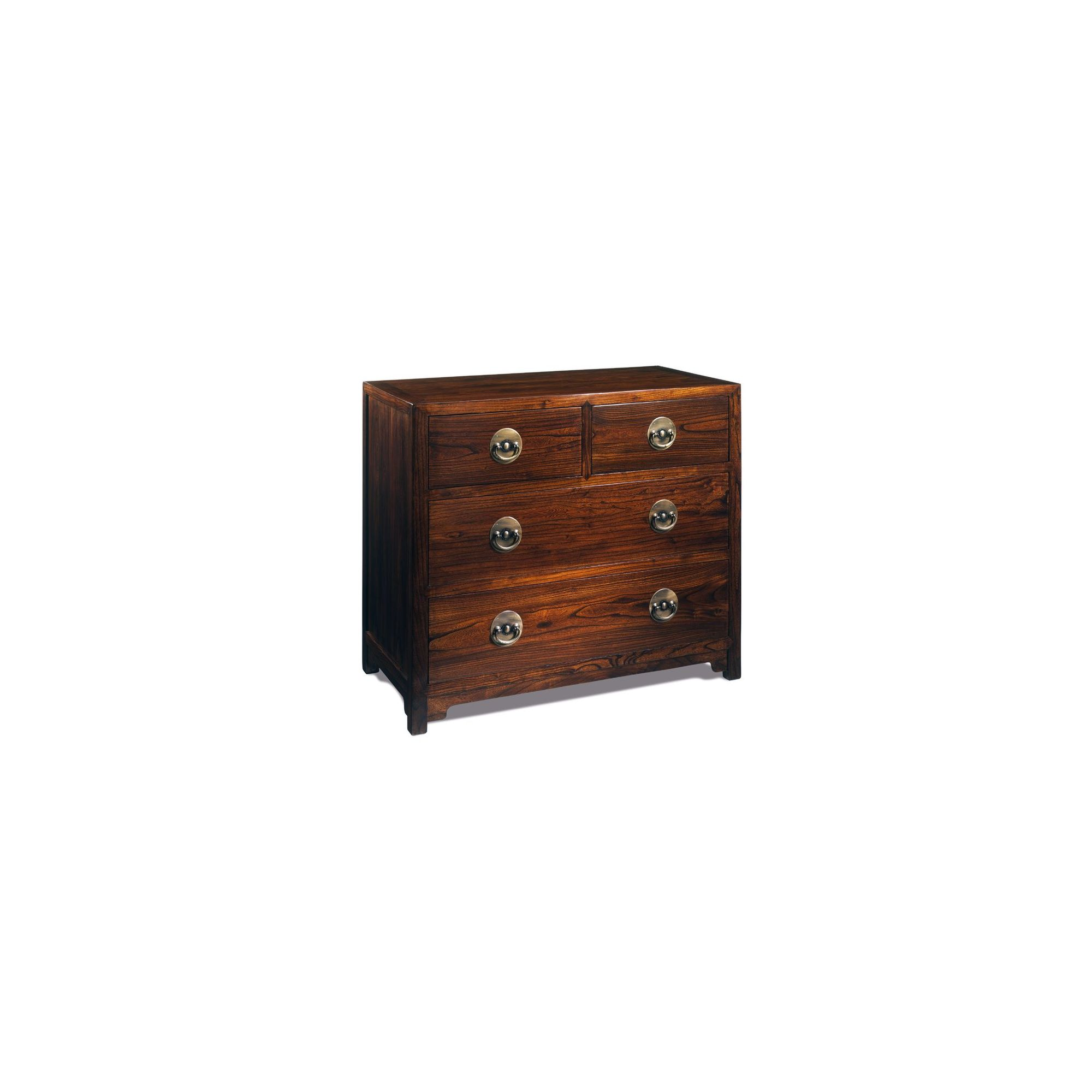 Shimu Chinese Classical Large Chest of Drawers - Warm Elm at Tesco Direct