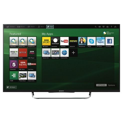 Sony KDL32W705BBU 32 Inch Smart  Full HD 1080p LED TV With Freeview HD -