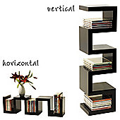 Great - Wall Mounted Media Storage / Display Shelf - Black