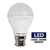 3W BC B22 LED Dusk Till Dawn Sensor Bulb Neutral White