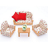 3 Piece Suite - Sylvanian Families Figures Dolls Furniture 4464