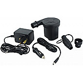 Yellowstone Electric Airbed Pump Inflator with Wall & Car Charger