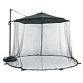 Mosquito Net Curtain for 3m Diameter Parasol