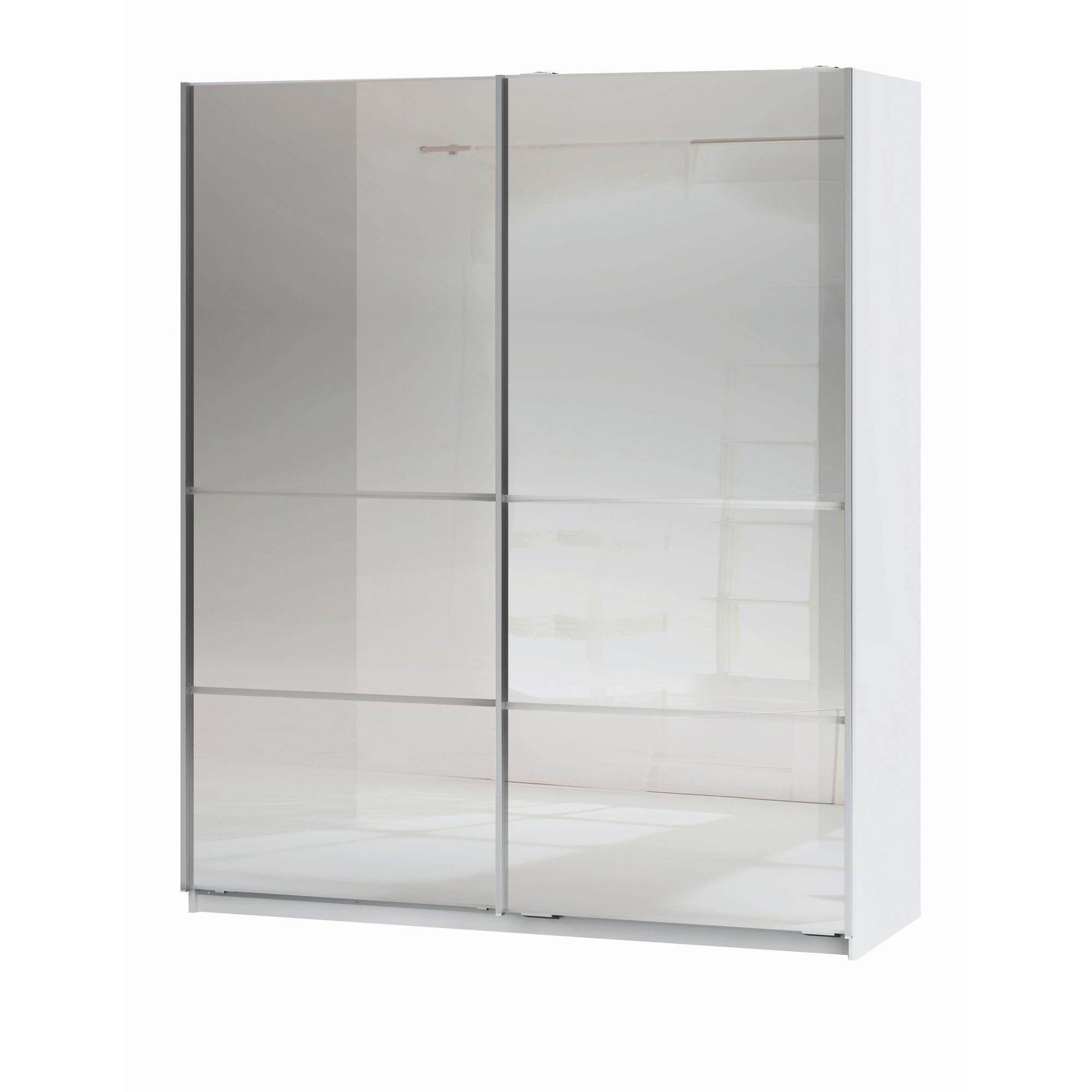 Altruna Space Double Mirror Slider Wardrobe at Tesco Direct