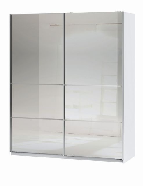 Altruna Space Double Mirror Slider Wardrobe