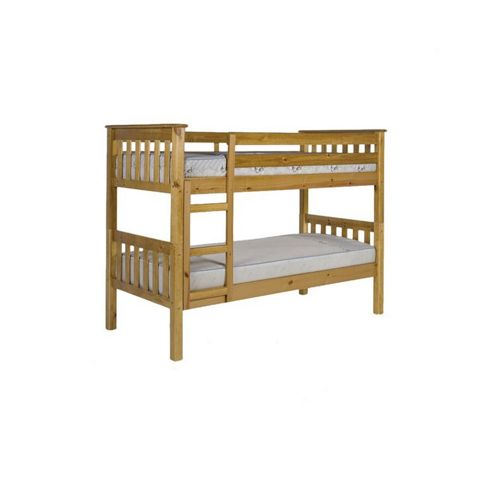 Verona Barcelona Bunk Bed Frame - Single - Antique