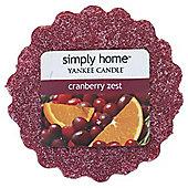 Yankee Melt Cranberry Zest