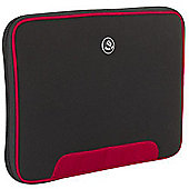 Techair Z Series Z0306 Clam Styled Slipcase (Black/Red) for 15 inch to 15.6 inch Netbook