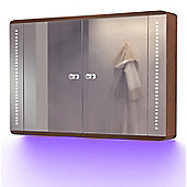 Ambient Solid Oak Bathroom Cabinet With Demister, Sensor & Shaver Socket K83U