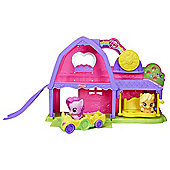 MY LITTLE PONY APPLEJACK BARN AND VEHICLE