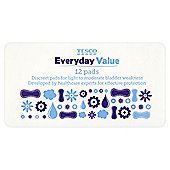 Tesco Everyday Value Incontinence Pads - 12 Pack