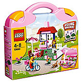 LEGO Bricks Pink Suitcase 10660