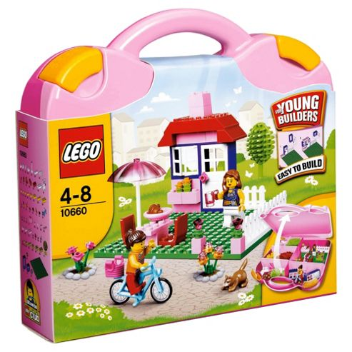 LEGO Bricks & More House Pink Suitcase 10660