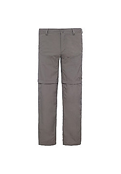 The North Face Mens Horizon Convertible Pants - Brown