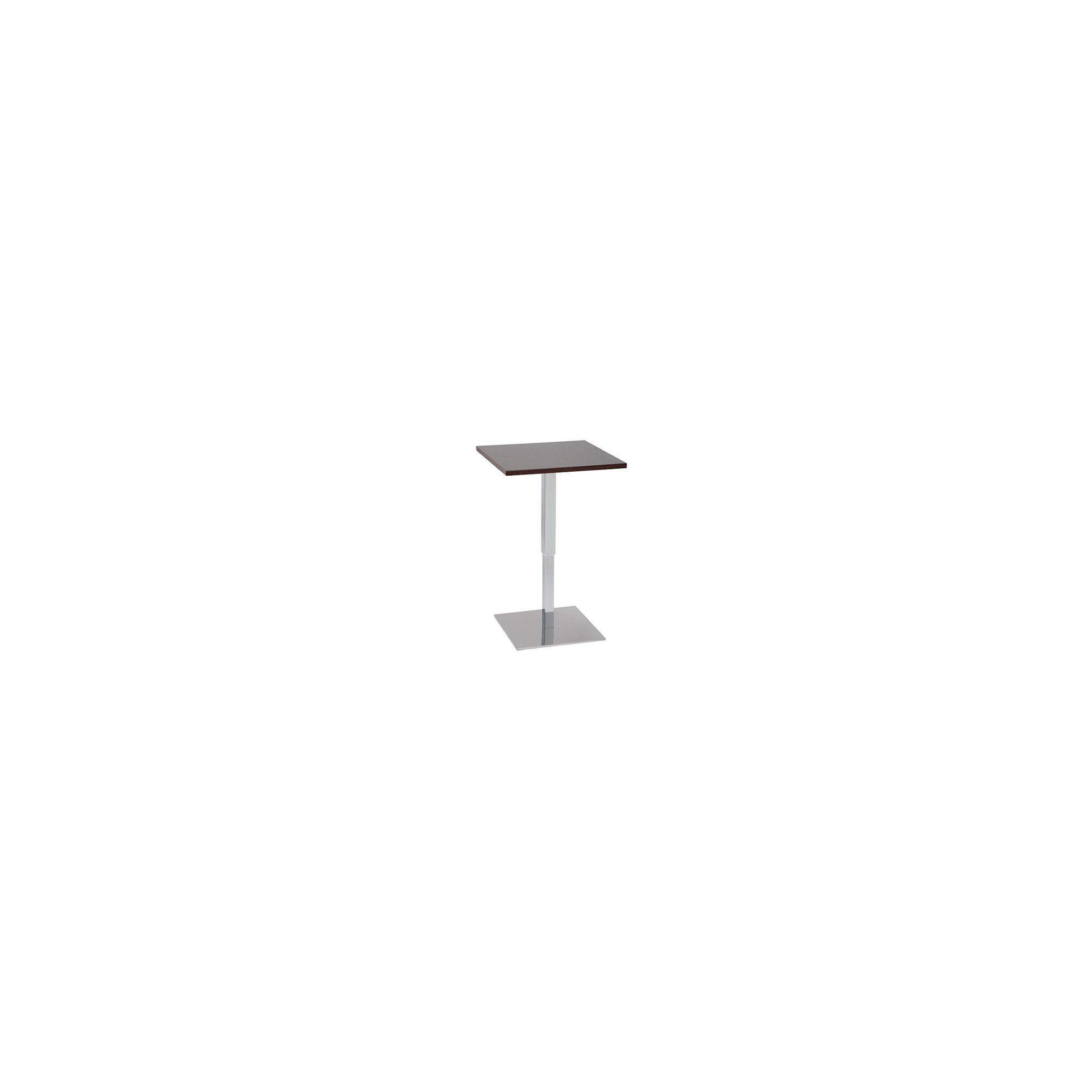 Pro Global Comfort Gas Lift Square Bar Table - 60 cm - Black at Tescos Direct