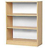 Cill - 3 Shelf Storage Bookcase - Beech